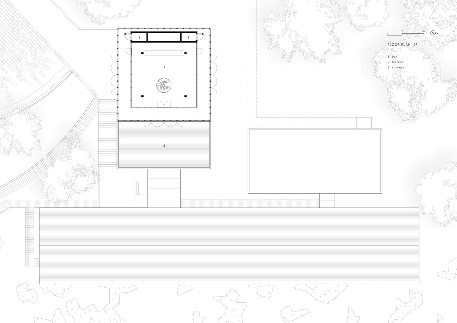贵州山间餐厅与酒吧建筑设计/休耕建筑