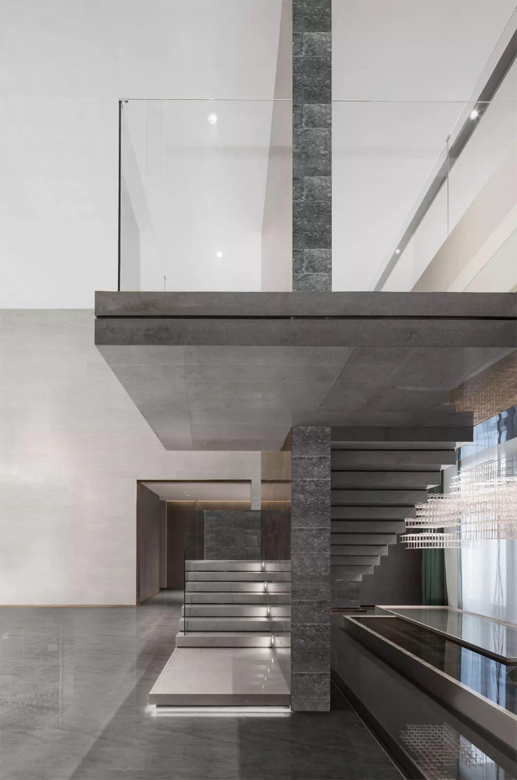 中粱津门首府售楼处室内设计/UMA伍玛设计