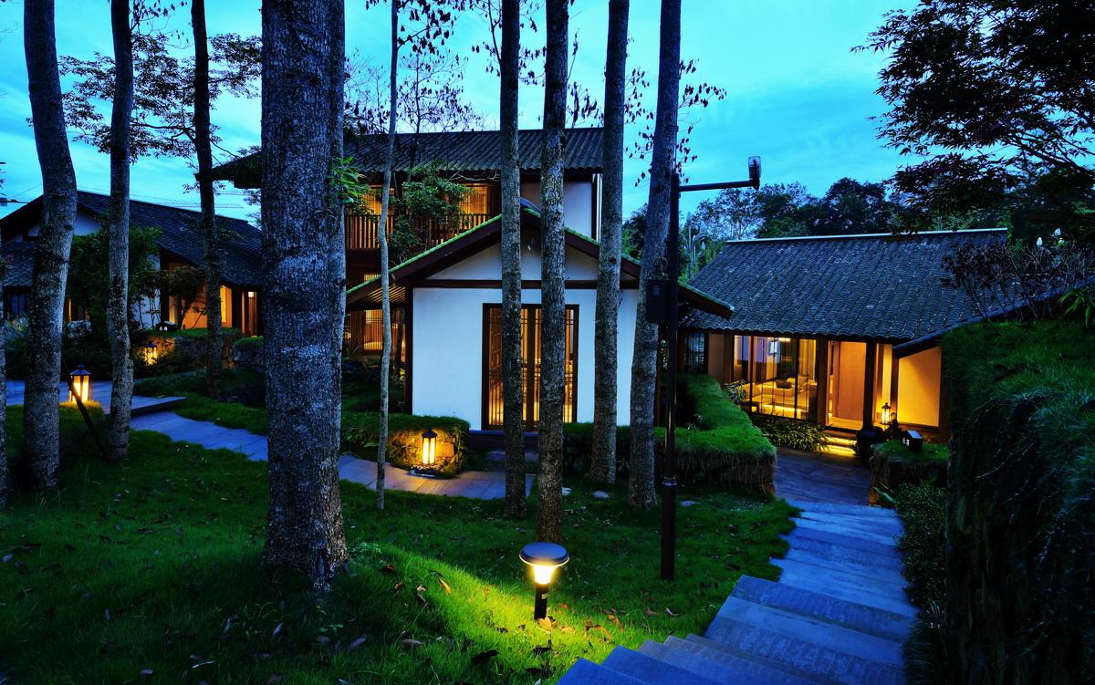 雅安花间堂茶马司酒店建筑景观室内一体化设计/无象建筑