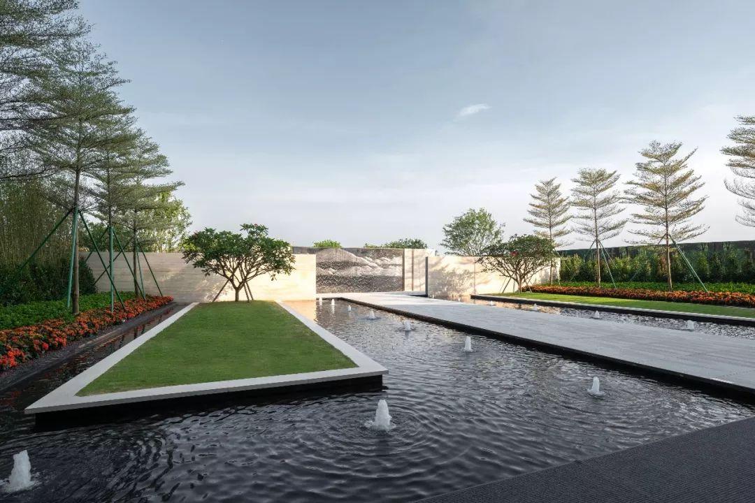 惠州中海·阅江府景观设计/ASL阿特森景观