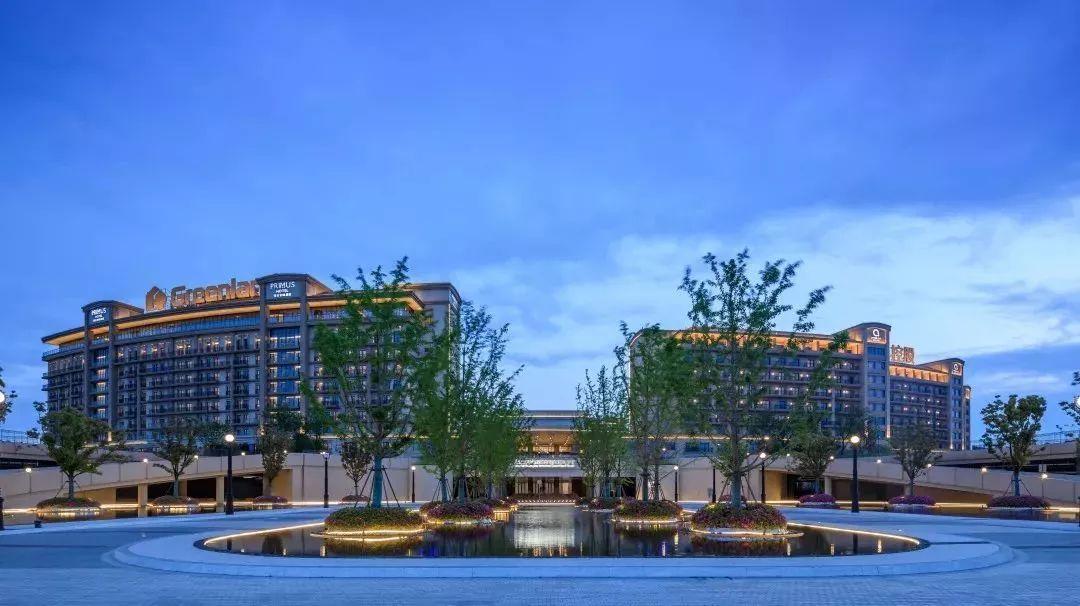 上海三甲港绿地国际旅游度假村景观设计/上海纳千