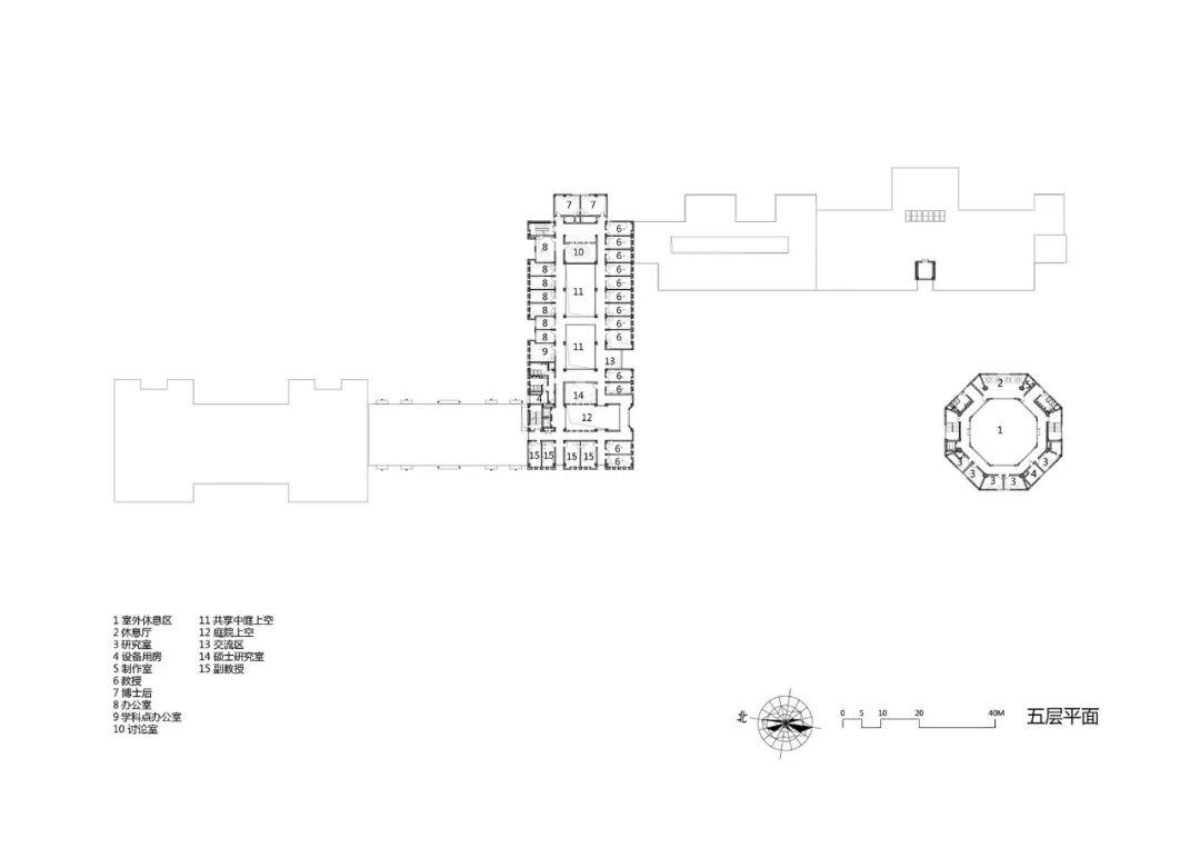 大连理工大学管理与经济学部教学楼建筑设计/浙大设计
