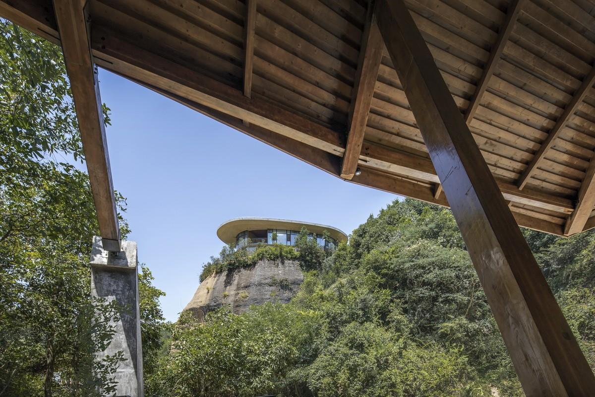 自在平江野奢酒店三期鹰岩崖居建筑设计/北京多向界建筑设计