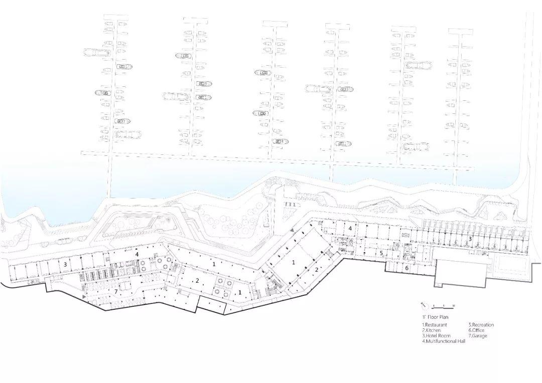 深圳南澳万科浪骑游艇会建筑设计/筑博设计