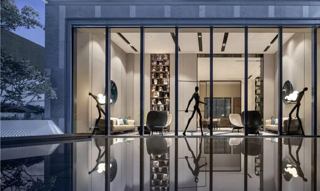 哈尔滨保利·天悦营销中心室内设计/UMA伍玛设计