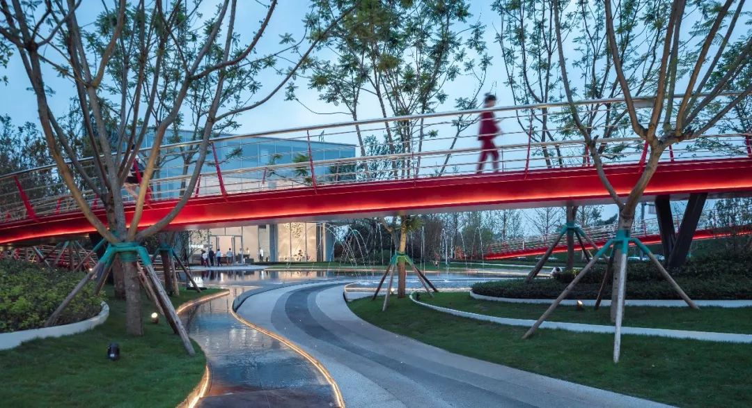 成都·天府中心城景观设计/山水比德