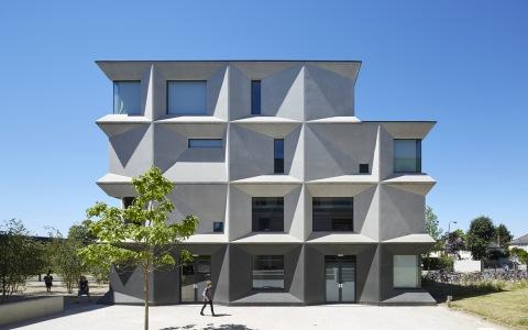 英国本特伍德学校建筑letou国际米兰下载/Allford Hall Monaghan Morris