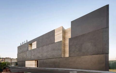 墨西哥石材博物馆建筑letou国际米兰下载/Esrawe Studio