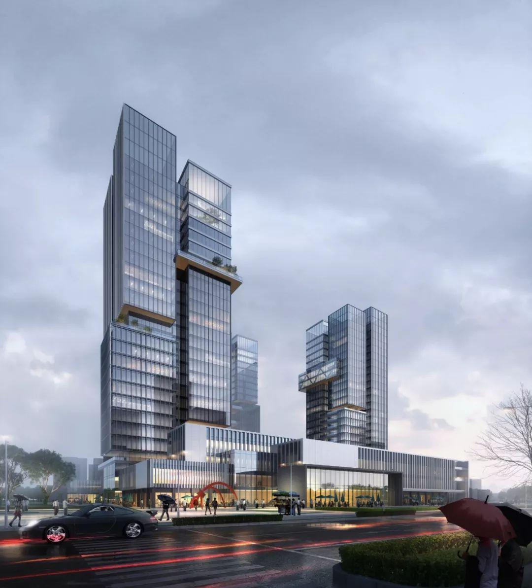 海门康佳总部中心建筑设计/帝奥设计集团