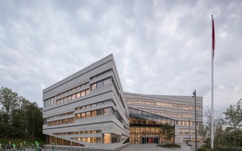 瑞典乌普萨拉大学行政楼建筑letou国际米兰下载/3XN