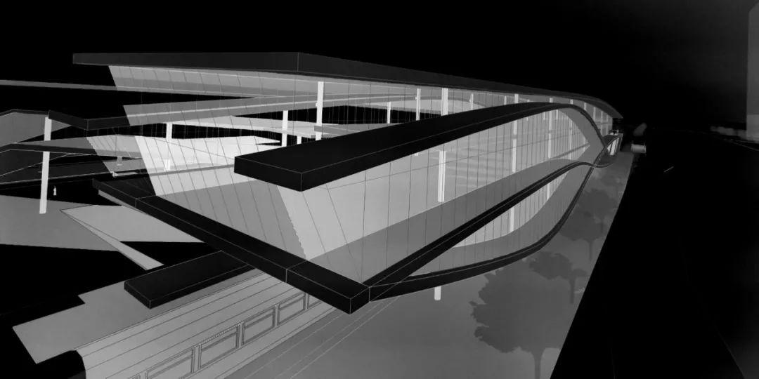 琶洲港澳客运口岸概念设计/XAA建筑事务所