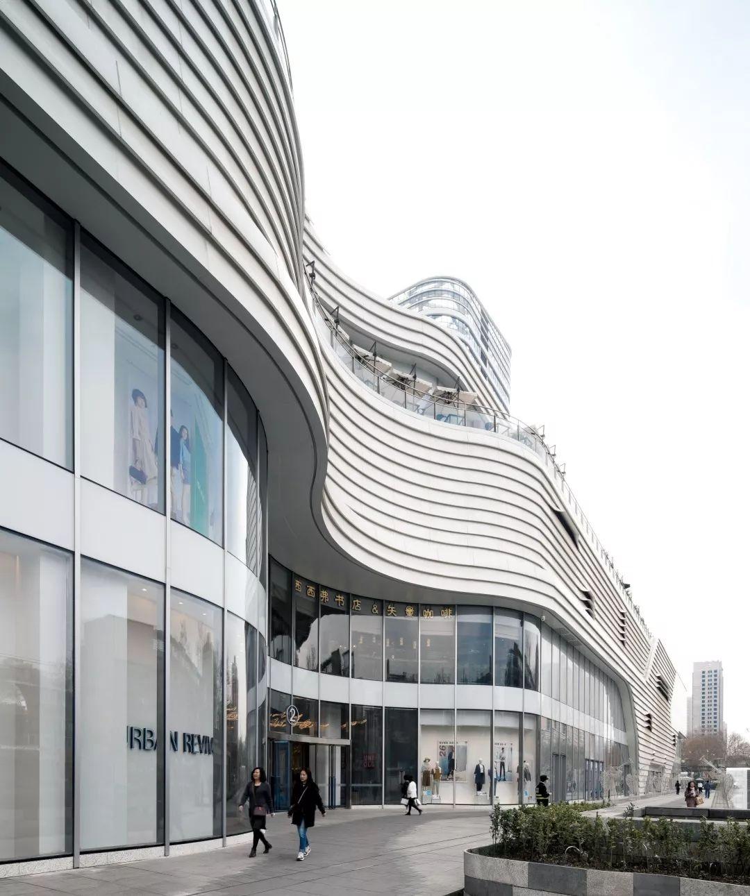 西安地铁置业时代广场建筑设计/UDG联创设计