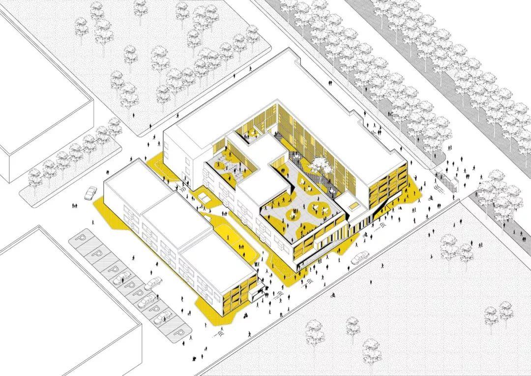 山东烟台春晖路泊寓改造设计/MAT 超级建筑事务所