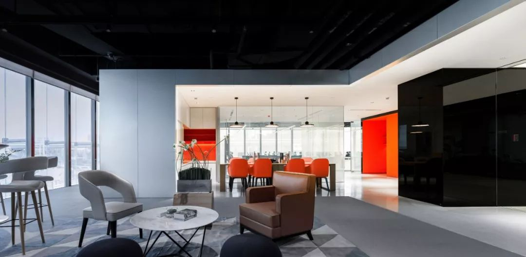青岛地铁华润国际海洋智区加速器室内设计 / 北京大观建筑设计