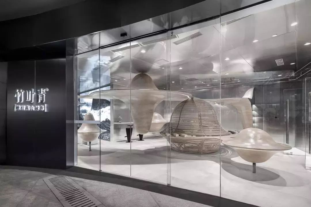 成都竹叶青峨眉山高山绿茶体验店室内设计/唯想国际