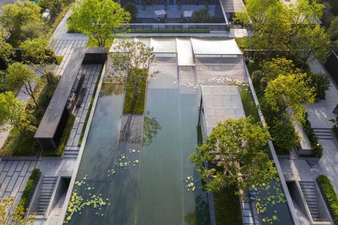佛山保利和悦滨江景观设计/IAPA