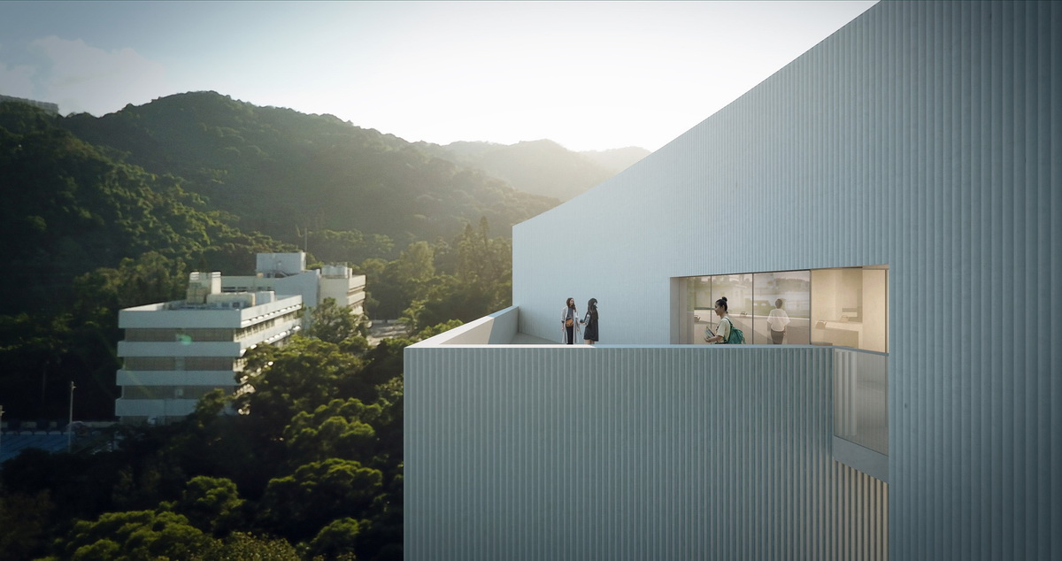香港中文大学艺文阁竞赛建筑设计/香港汇创国际建筑设计有限公司