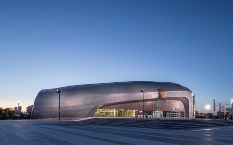 大同体育中心建筑letou国际米兰下载/POPULOUS + CCDI