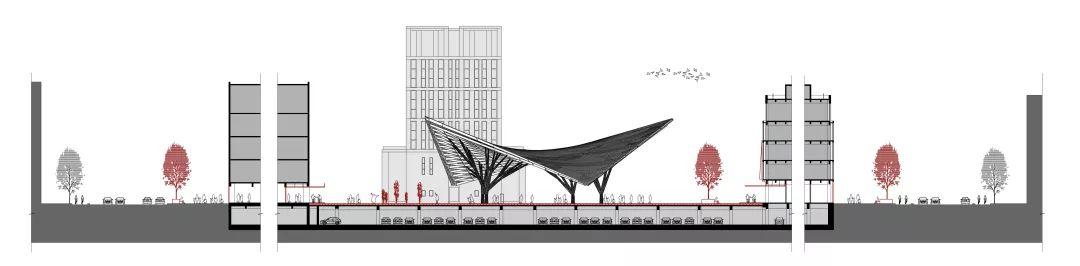 上海安亭新镇市民文化中心改造设计/Kokaistudios
