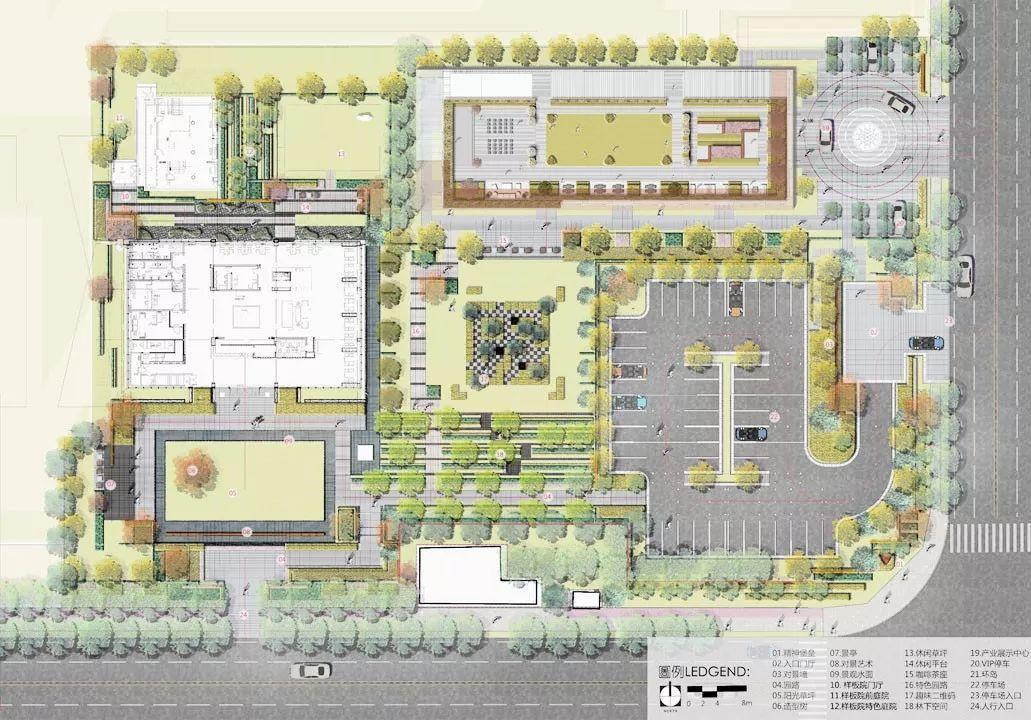 青岛腾讯双创小镇规划建筑设计/栖城设计