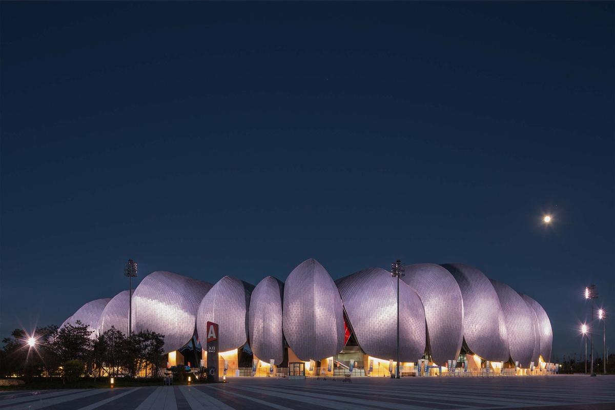 大同体育中心建筑设计/POPULOUS + CCDI