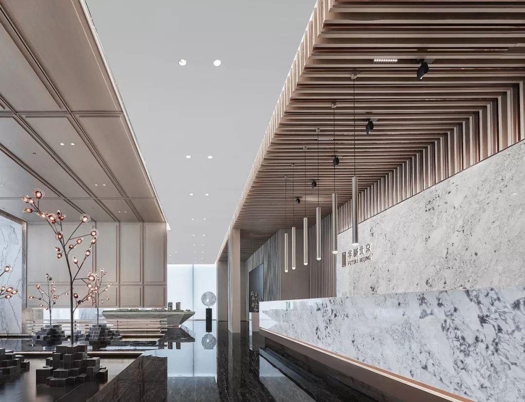 首开金地 · 华樾北京售楼中心室内设计 / EH易和设计