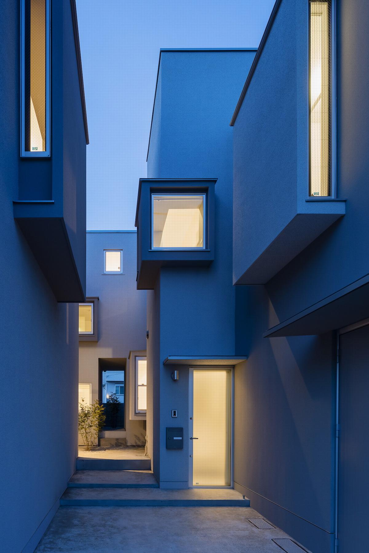 日本同联宅独立住宅建筑设计/河野有悟建筑事务所