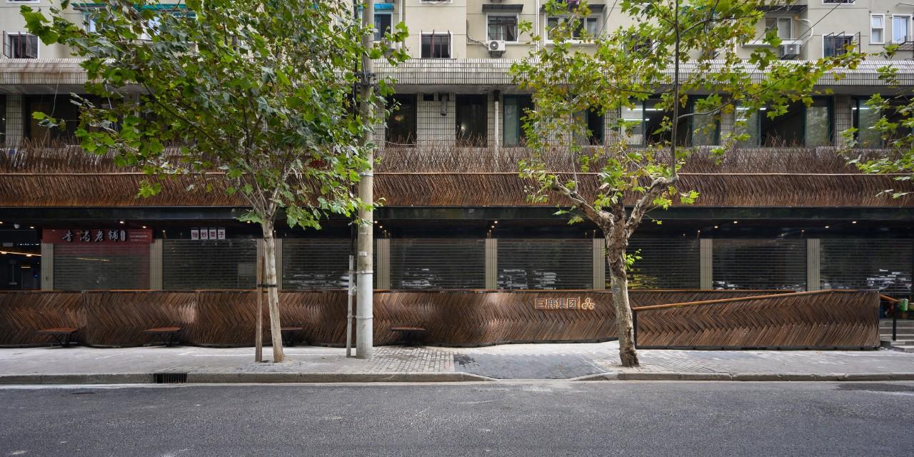 上海蒙西菜场更新改造设计/裸筑更新