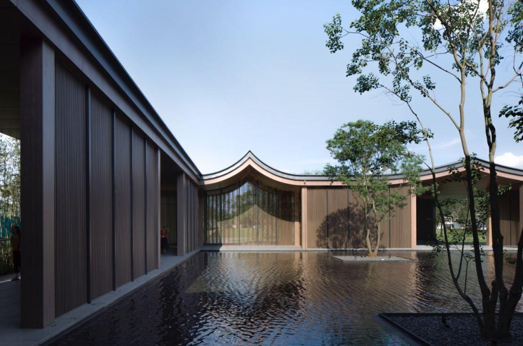 广东肇庆绿地香港·樾湖书院建筑设计/霍普建筑