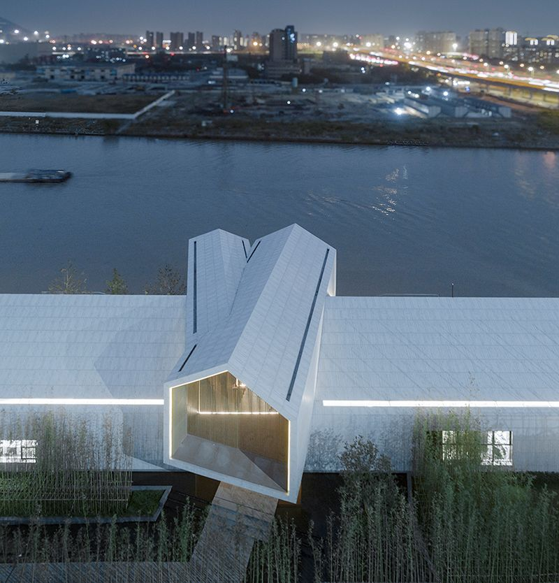 杭州运河源生活美学馆建筑设计/gad