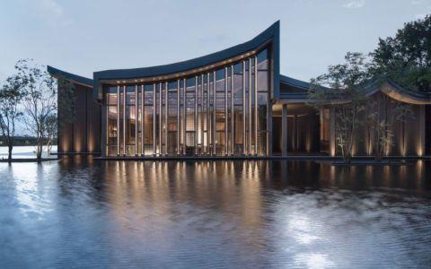 广东肇庆绿地香港·樾湖书院建筑letou国际米兰下载/霍普建筑