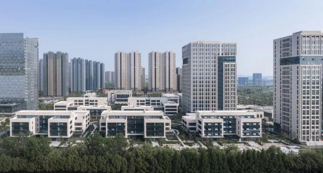 南京海峽城A地塊二期項目建筑設計/日清設計