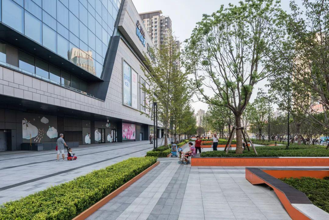 合肥万科森林公园-万科广场 B03 景观设计/Lab D+H