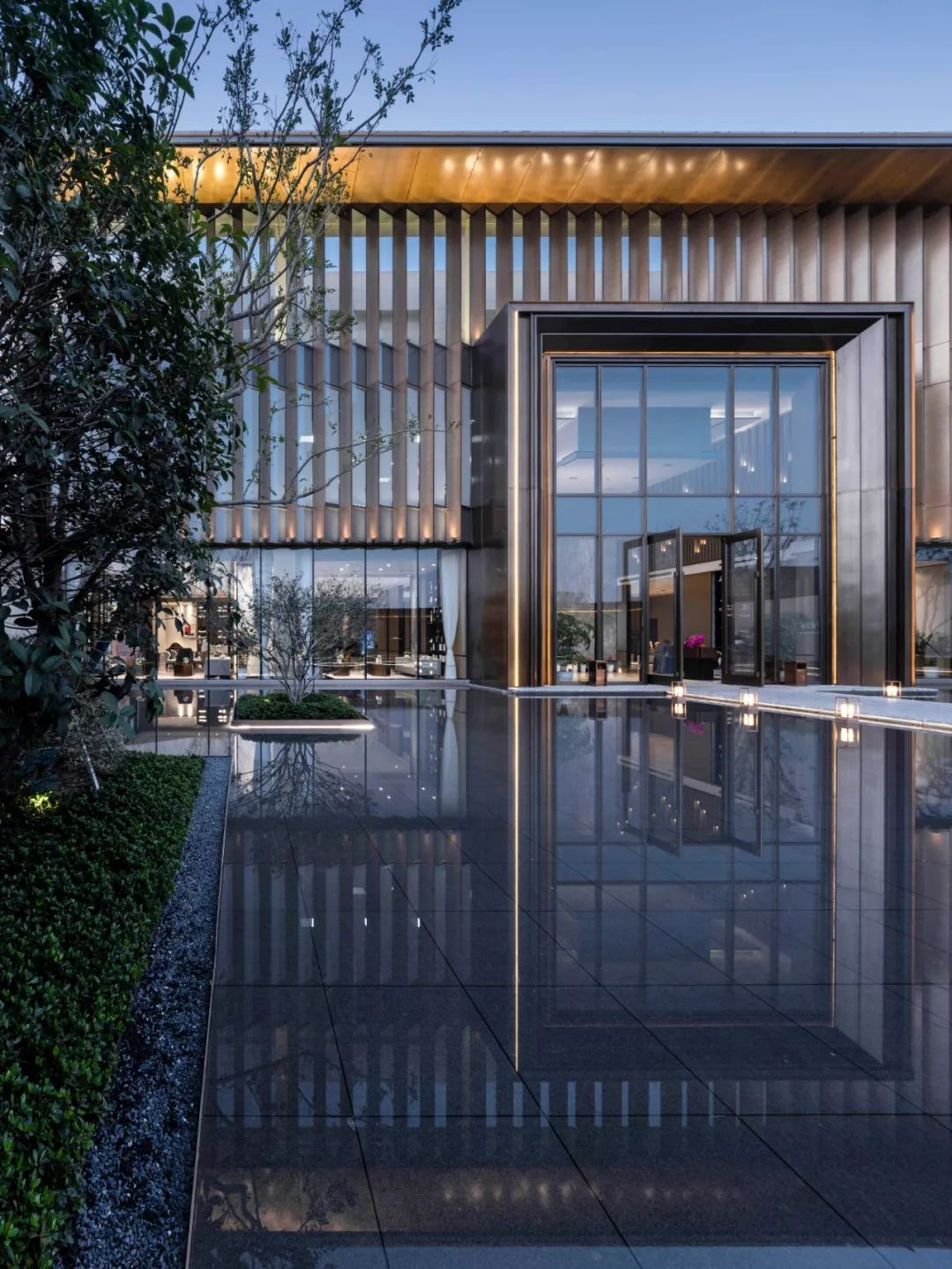 苏州首开棠前如院 · 邻里中心建筑设计 / 成执设计