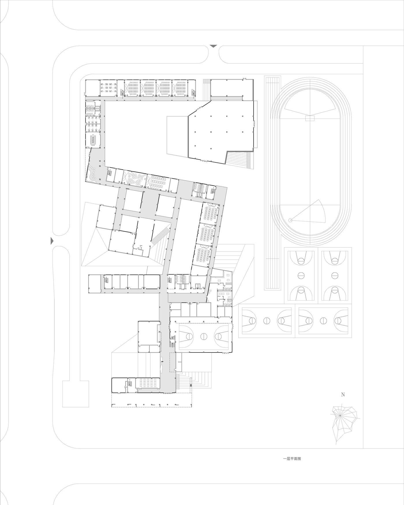 合肥万科北城中央公园中小学建筑设计/上海天华
