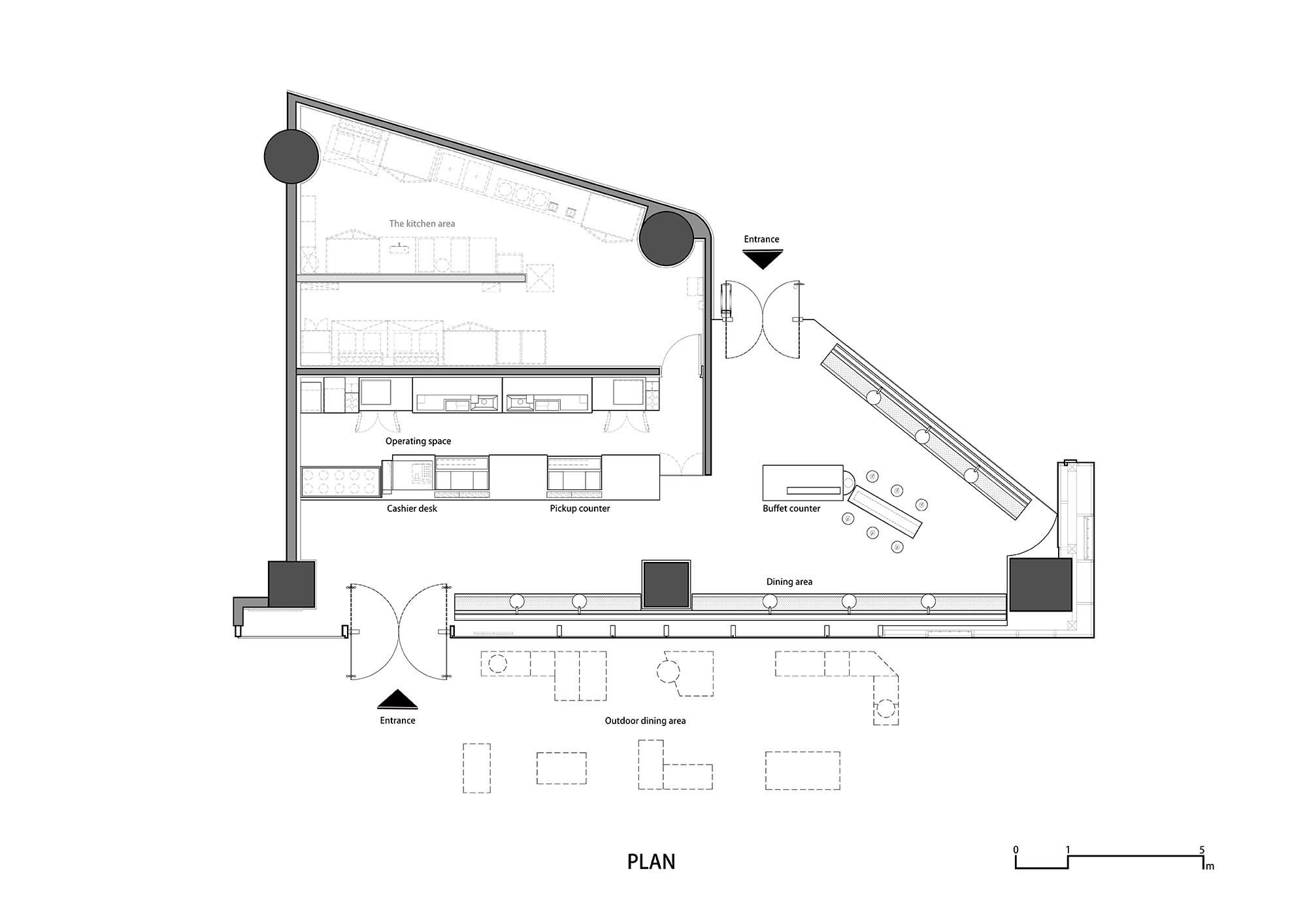 喜茶虹桥新天地店室内设计/DAS Lab