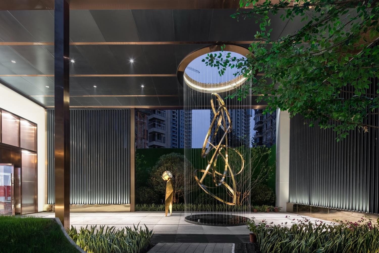 武汉中海·澳门佳园展示区景观设计/EADG泛亚国际