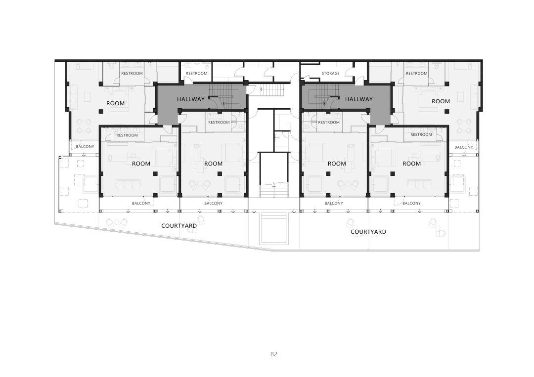 大理十九山民宿建筑设计/Wutopia Lab