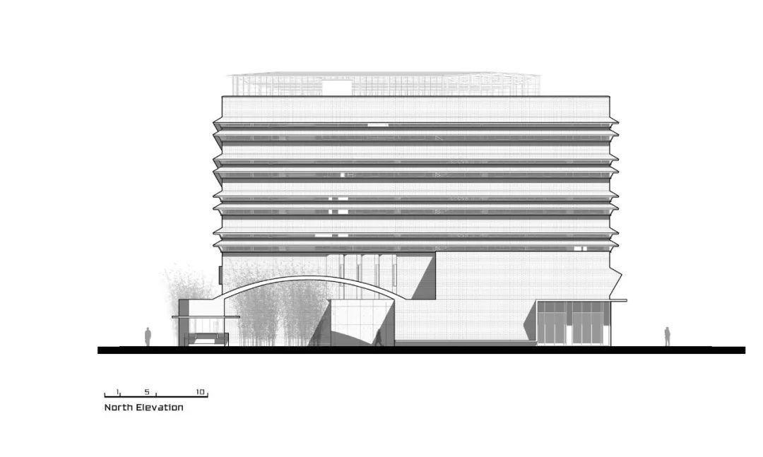 桐乡华腾总部办公楼建筑设计/以靠建筑