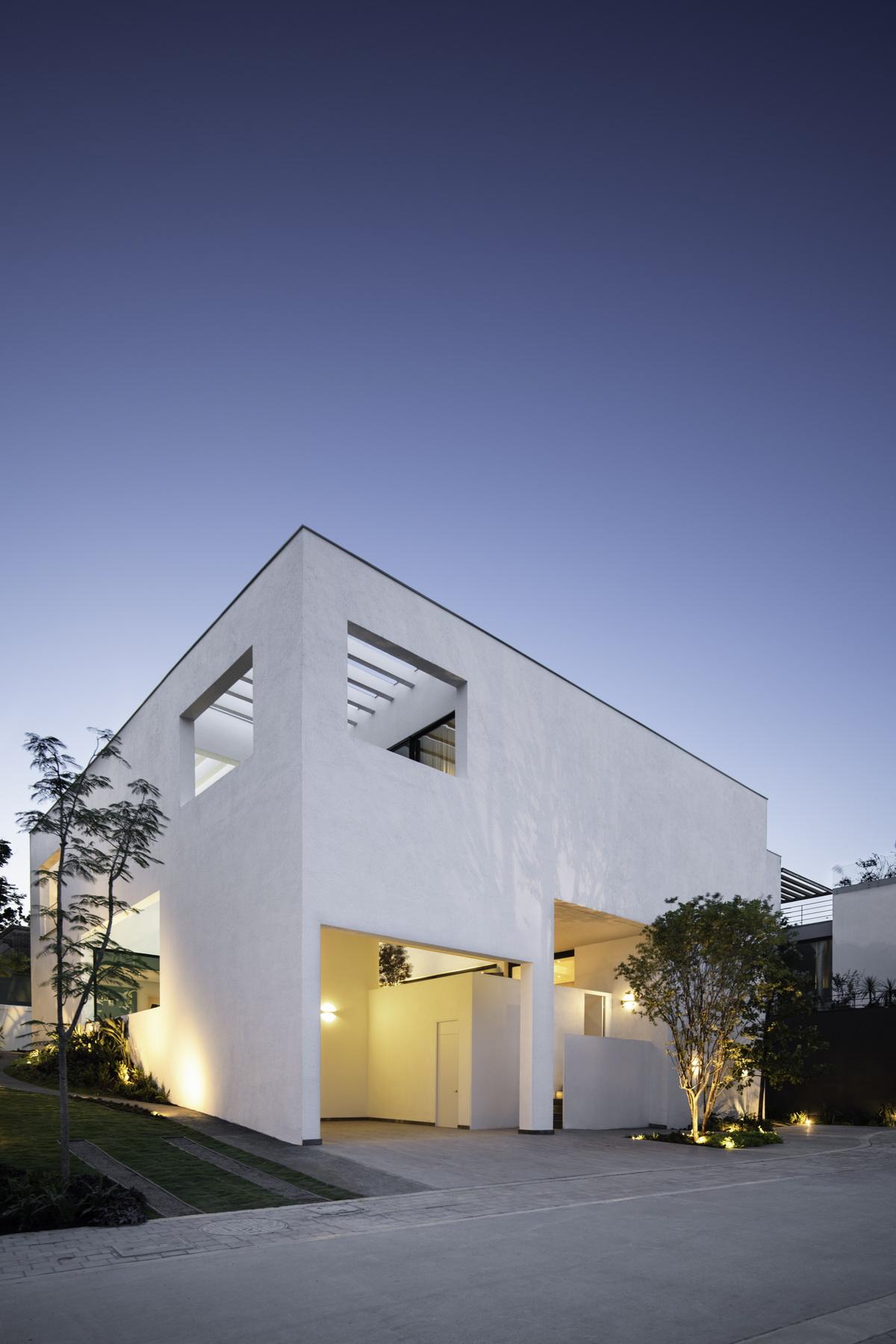 墨西哥Ombra独立住宅建筑设计 / Cadaval & Solà-Morales