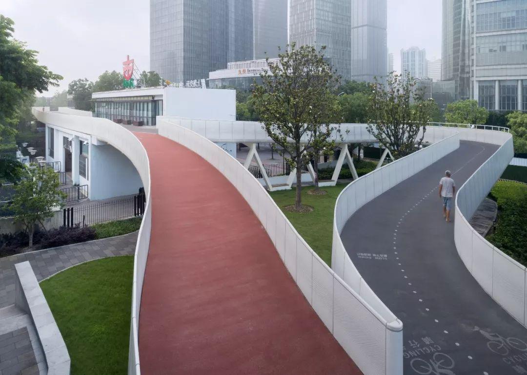 汇之桥 – 上海泰同栈慢行桥设计 / 山水秀建筑事务所