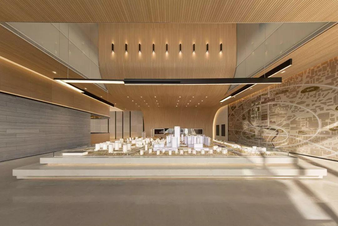 成都保利时代销售中心室内设计 / 矩阵纵横