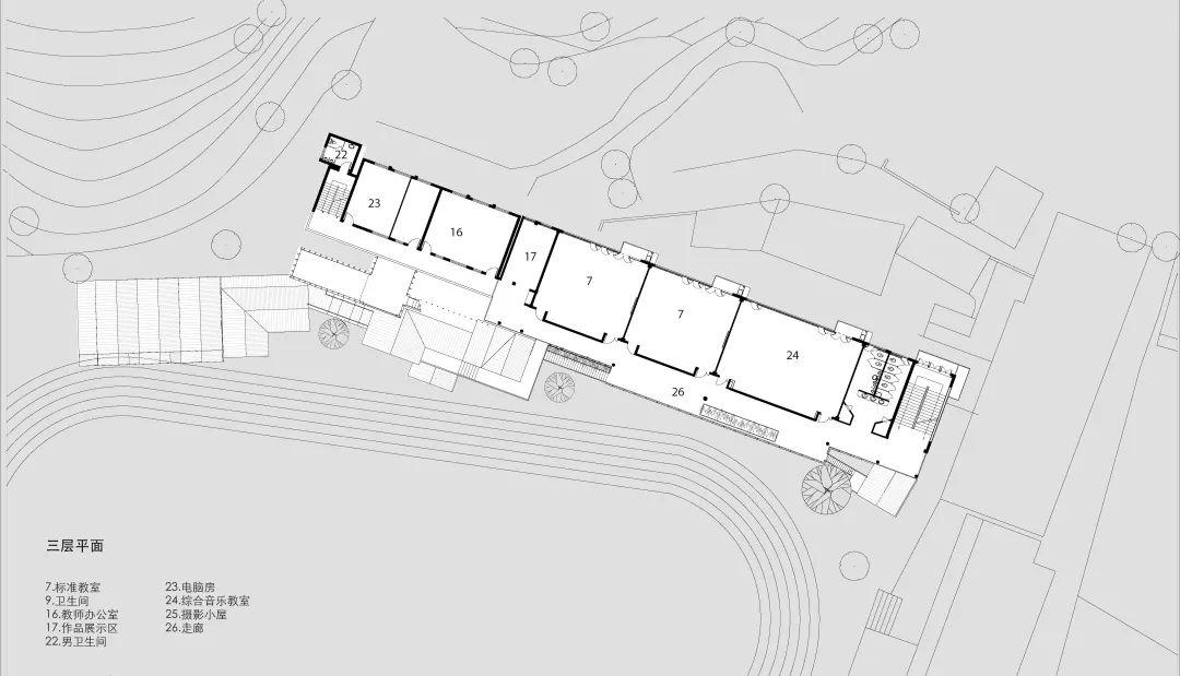 杭州淳安县富文乡中心小学建筑设计 / 中国美术学院风景建筑设计研究院王伟工作室