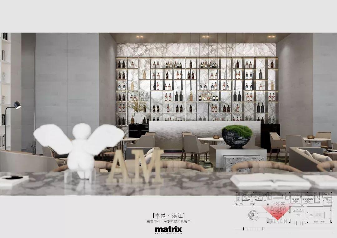 湛江·卓越维港销售中心室内设计 / 矩阵纵横