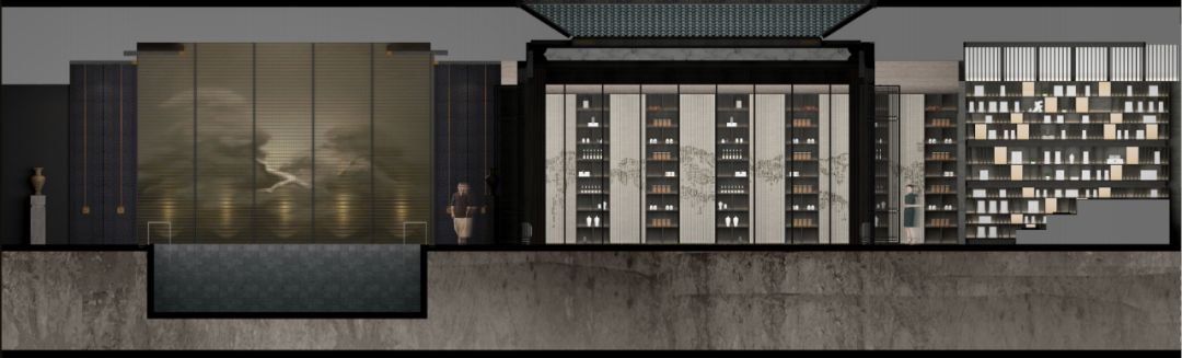 武地建发玺院售楼处室内设计 /  矩阵纵横