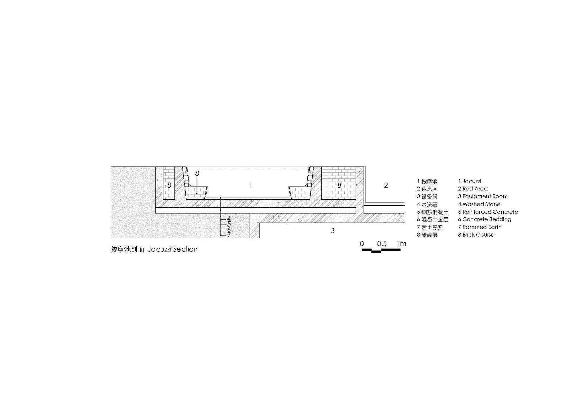 桂林喜岳云庐瑜伽亭及泳池(二期) / 刘宇扬建筑事务所
