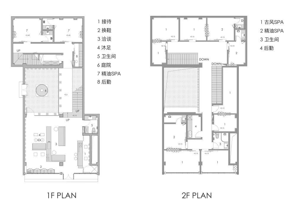 泰合玺南京老门东SPA馆设计 / 裸筑更新