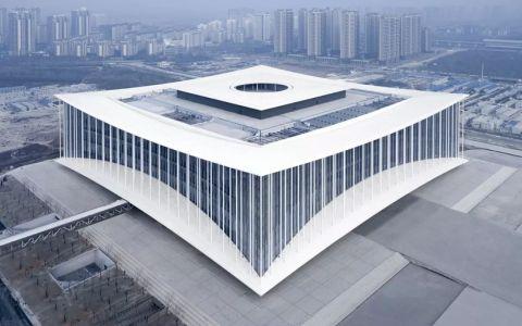 西安丝路国际会议中心建筑letou国际米兰下载方案 / gmp