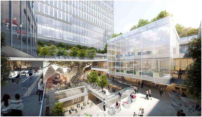 深圳市南山区科技联合大厦竞赛建筑方案设计 / 欧博设计