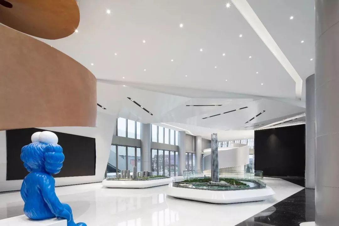 长沙绿地V岛营销中心室内设计方案 / 绿地景观与室内设计中心